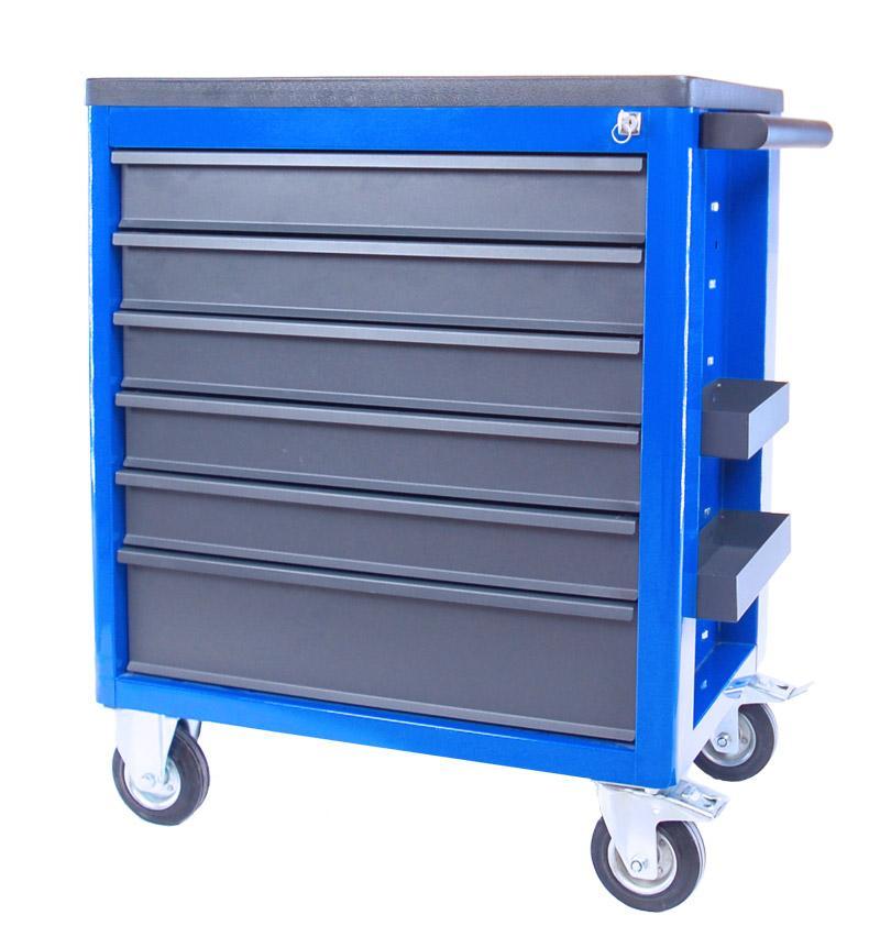 5.WN10.6BL - Wózek narzędziowy 6 szufladowy z blokadą