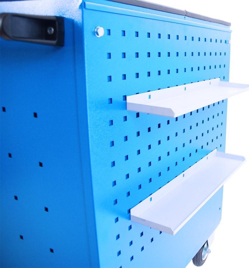 5.WN8A - Wózek narzędziowy 6 szufladowy ze ścianką