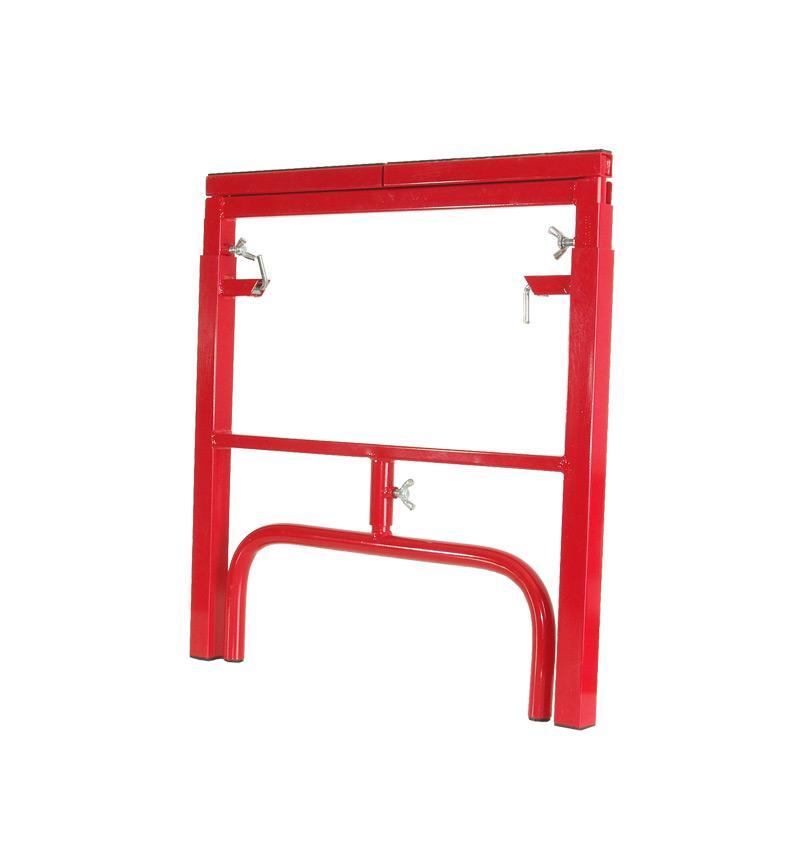 Stojak metalowy czerwony
